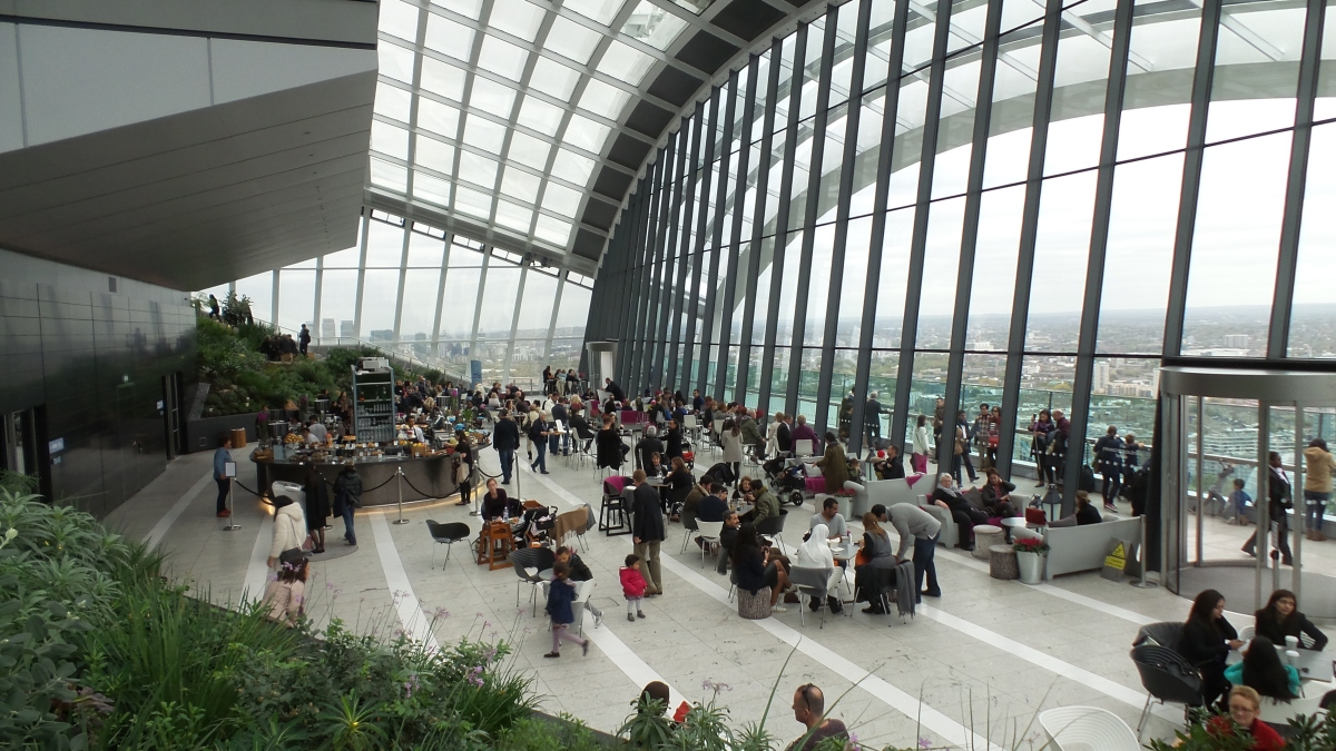 The Skygarden: vue à 360° sur Londres