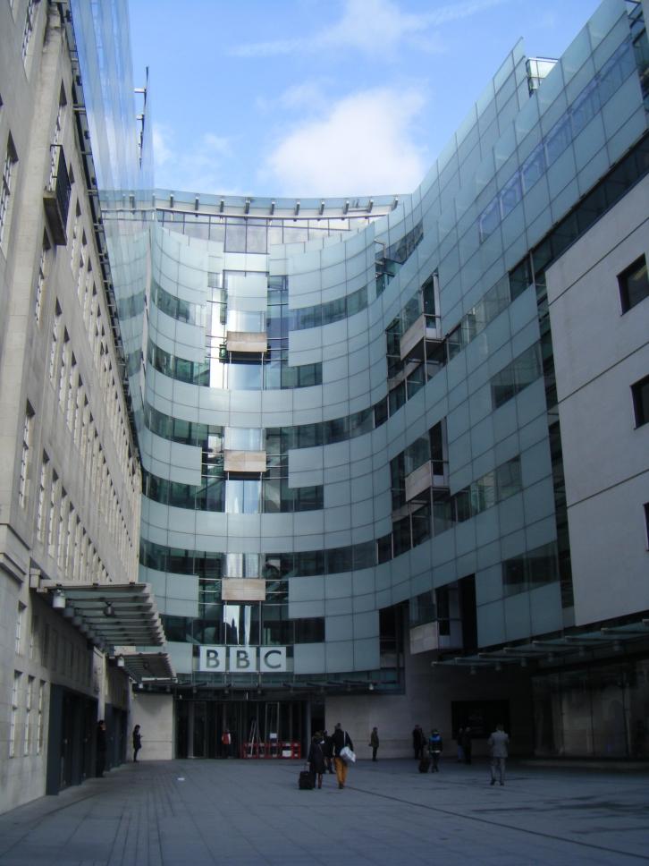 Studios de la BBC, à quelques pas au nord de Oxford Circus