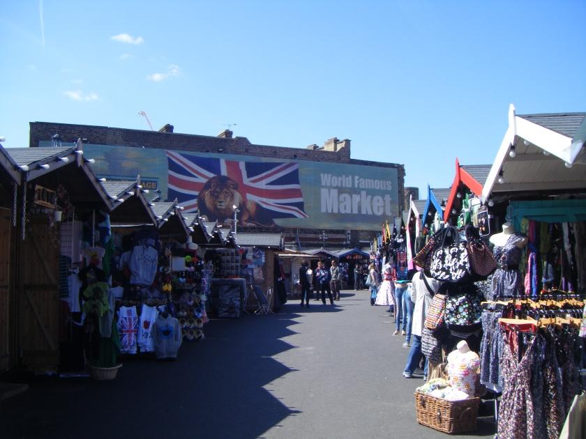 Camden Lock Village Market, en travaux actuellement