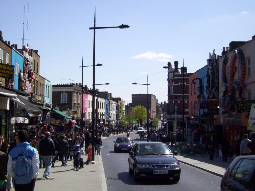 Camden, rue principale