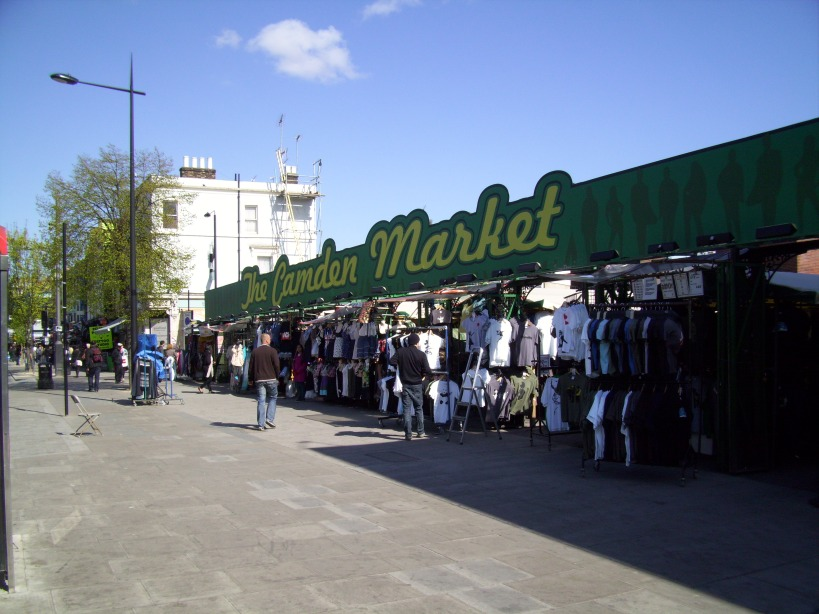 Camden market, pas indispensable