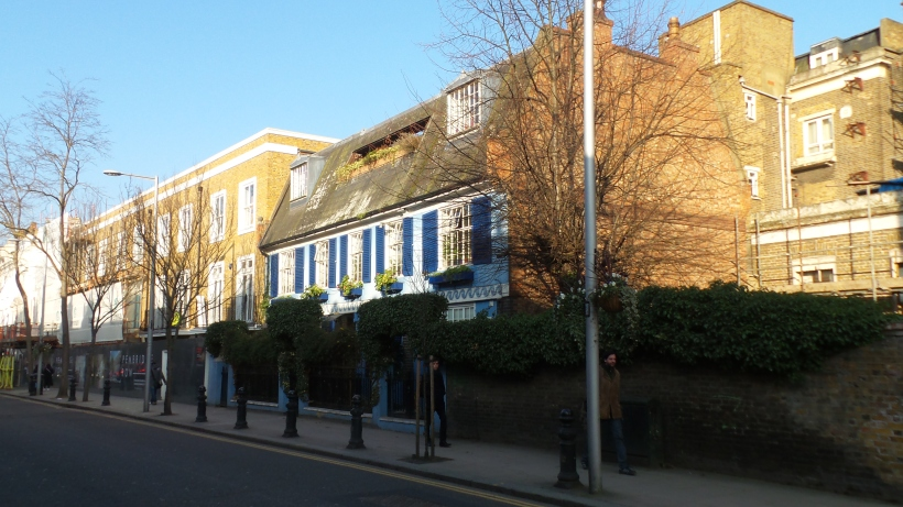 Portobello Road. Notting Hill