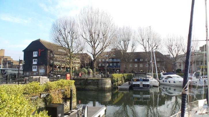St Katherine's docks