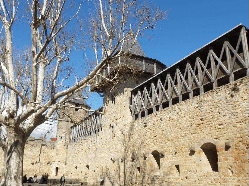 Le cinéma à la Cité deCarcassonne